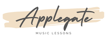 Applegate Music Lessons Logo